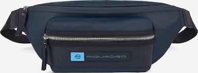 Piquadro PQ-Bios Gürteltasche Leder 33 cm in blau, Produktansicht