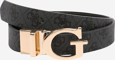 GUESS Belt 'MIKA' in grey / anthracite, Item view