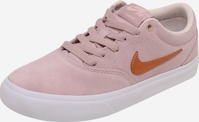 Nike SB Nízke tenisky 'Charge Suede' - karamelová / ružová, Produkt