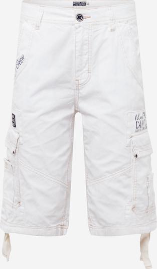 Laisvo stiliaus kelnės iš CAMP DAVID, spalva – smėlio / juoda / balta, Prekių apžvalga