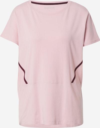 ESPRIT SPORT Koszulka funkcyjna w kolorze ciemnofioletowy / jasnoróżowym, Podgląd produktu