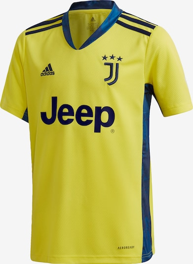 ADIDAS PERFORMANCE Trikot 'Juventus Turin' in dunkelblau / senf, Produktansicht
