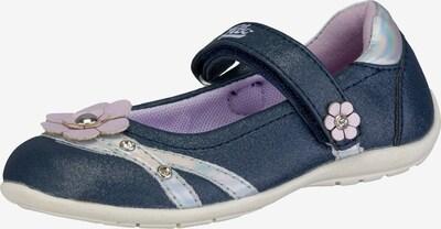 LICO Ballerina 'Mona' in dunkelblau / flieder / mischfarben, Produktansicht