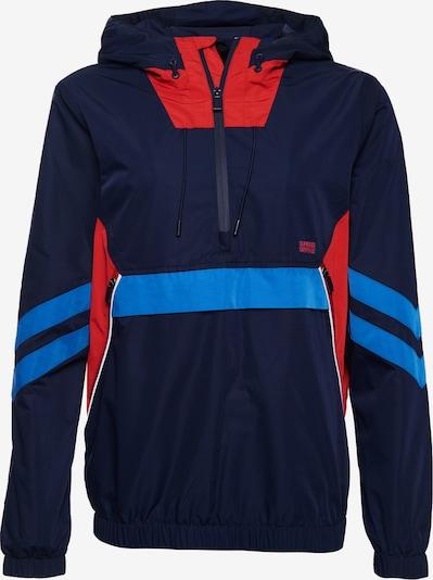 Superdry Tussenjas 'Jared' in de kleur Blauw / Marine / Rood, Productweergave