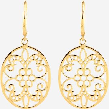 ELLI Earrings 'Ornament' in Gold