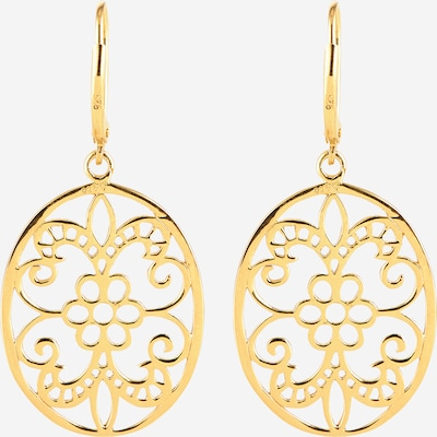 ELLI Ohrringe 'Ornament' in gold, Produktansicht