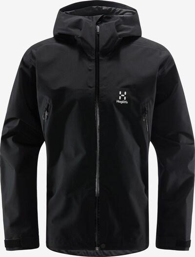 Haglöfs Sportjacke 'Roc GTX' in schwarz / weiß, Produktansicht
