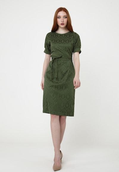 Madam-T Sommerkleid 'ANKARA' in grün, Modelansicht