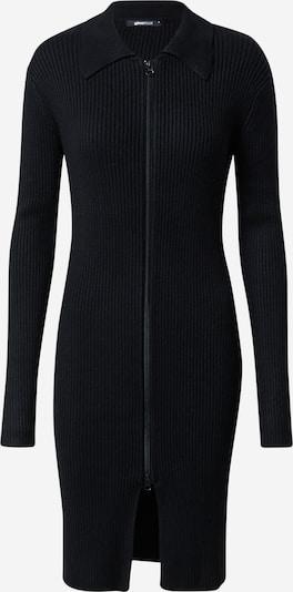 Rochie tricotat 'Elliana' Gina Tricot pe negru, Vizualizare produs