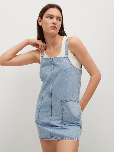 MANGO Kleid 'Pichi Lexia' in hellblau, Modelansicht