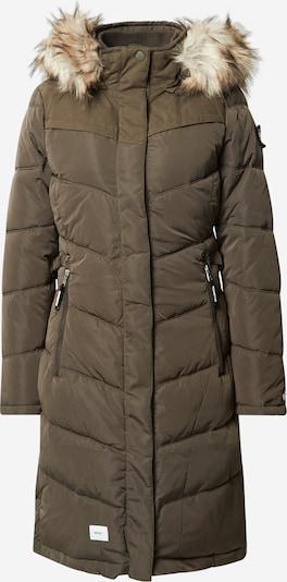 khujo Manteau d'hiver 'Lubeck' en vert, Vue avec produit