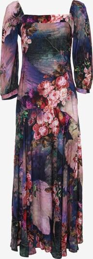 Madam-T Kleid 'Marlin' in dunkellila / mischfarben, Produktansicht
