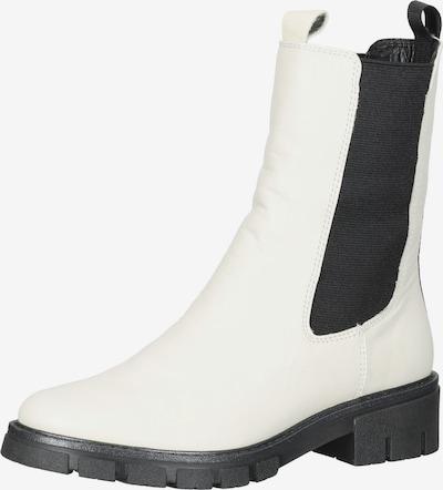ARA Chelsea Boots in schwarz / weiß, Produktansicht