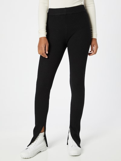 Gina Tricot Leggings 'Elliana' in schwarz, Modelansicht