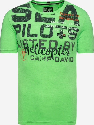CAMP DAVID T-Shirt in neongrün, Produktansicht