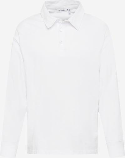 WEEKDAY Poloshirt 'Gabriel' in offwhite, Produktansicht