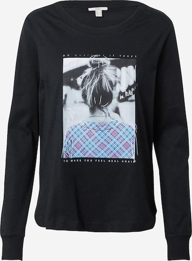 EDC BY ESPRIT Shirt in mischfarben / schwarz, Produktansicht