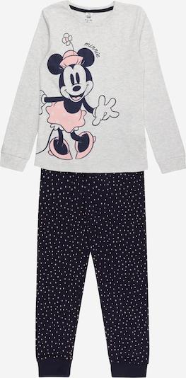 OVS Schlafanzug in nachtblau / grau / rosa, Produktansicht