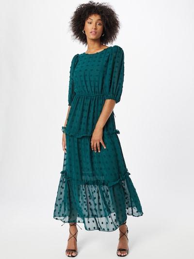 River Island Kleid in dunkelgrün, Modelansicht