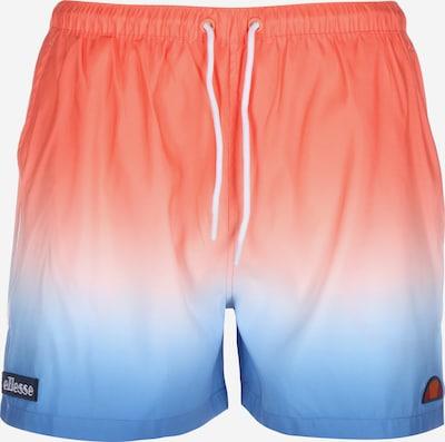 ELLESSE Badeshorts in blau / orange / weiß, Produktansicht