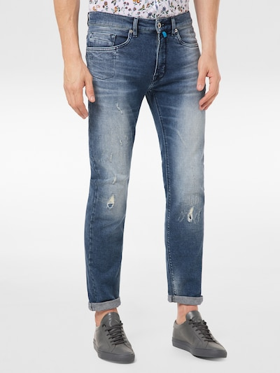 PIERRE CARDIN Jeans in blue denim, Modelansicht