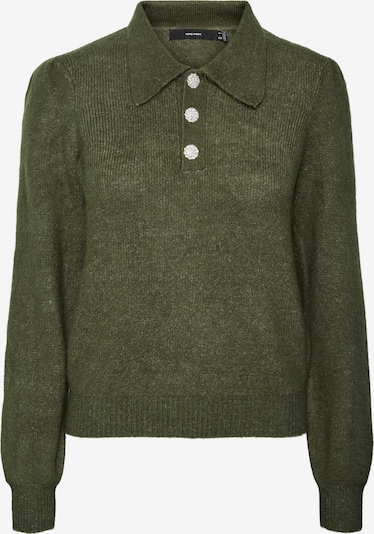 VERO MODA Pullover in khaki, Produktansicht