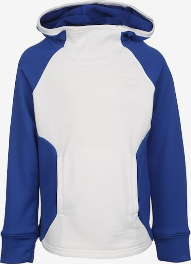 UNDER ARMOUR Sportief sweatshirt 'SC30 Baseline' in de kleur Blauw / Wit, Productweergave