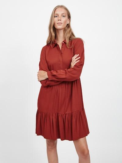 VILA Puseromekko 'Morose' värissä ruosteenpunainen, Mallinäkymä