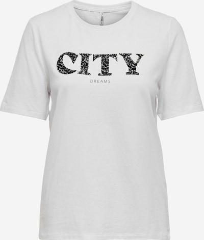 ONLY Majica 'ONLBINA' u siva / bijela, Pregled proizvoda