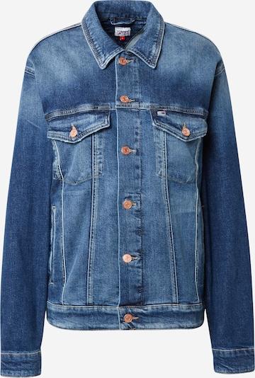 Giacca di mezza stagione Tommy Jeans di colore blu denim, Visualizzazione prodotti