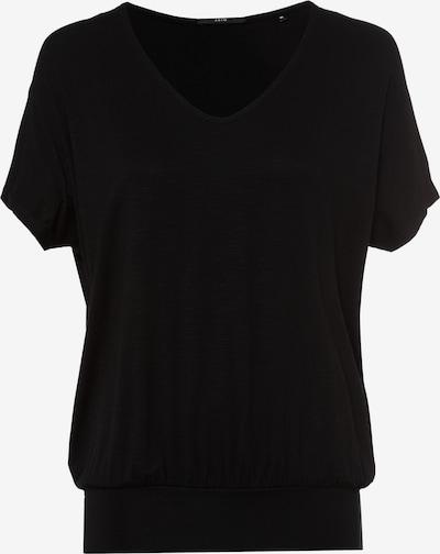 zero T-Shirt in schwarz, Produktansicht