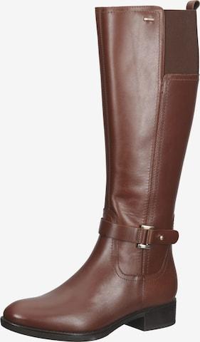 GEOX Overknee laarzen in Bruin