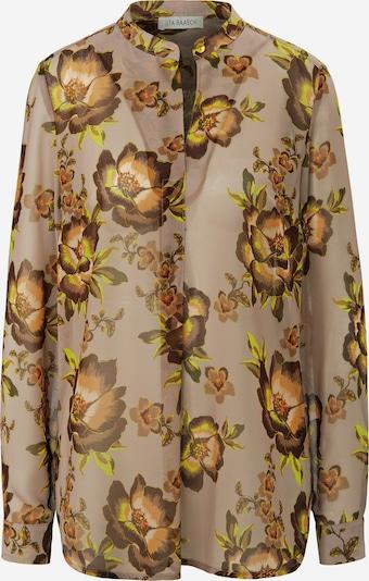 Uta Raasch Langarmbluse Bluse in beige / nude / braun / cappuccino / hellbraun / mischfarben, Produktansicht