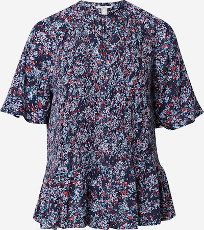 EDC BY ESPRIT Blouse in Navy / Mixed colours, Item view