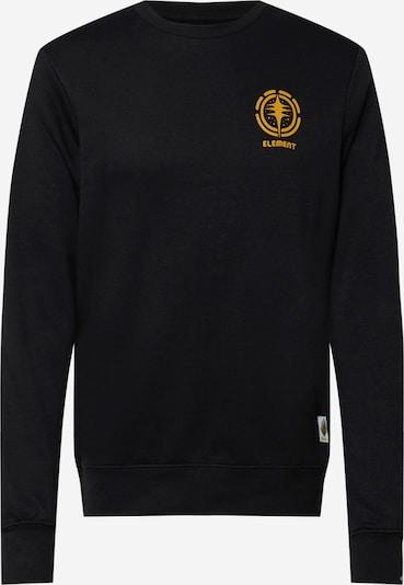 ELEMENT Sweat-shirt en jaune d'or / gris clair / noir / blanc, Vue avec produit