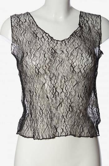 BRUNO BANANI Transparenz-Bluse in L in schwarz, Produktansicht