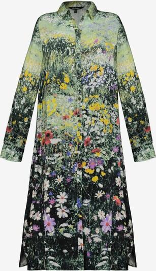 Ulla Popken Blousejurk in de kleur Pastelgroen / Gemengde kleuren, Productweergave