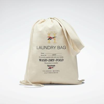 Reebok Classic Wäschebeutel in weiß, Produktansicht