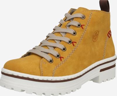 RIEKER Škornji | oker barva, Prikaz izdelka