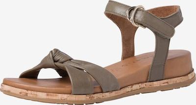 TAMARIS Sandalen met riem in de kleur Olijfgroen, Productweergave