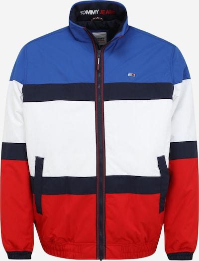 Giacca di mezza stagione Tommy Jeans Plus di colore blu / blu notte / rosso / bianco, Visualizzazione prodotti
