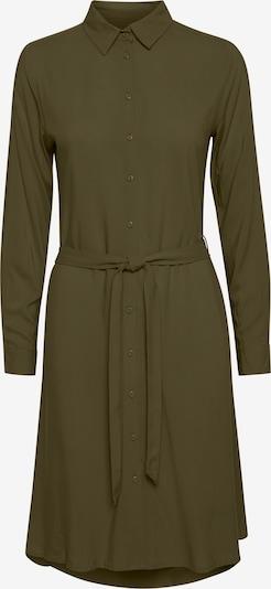 ICHI Blusenkleid 'IHMAIN' in grün / khaki / dunkelgrün, Produktansicht