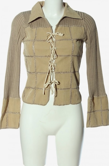 Bamboo Clothing Cardigan in S in creme / khaki, Produktansicht