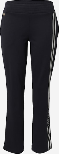 Pantaloni 'Tiera' JOOP! pe negru / alb, Vizualizare produs