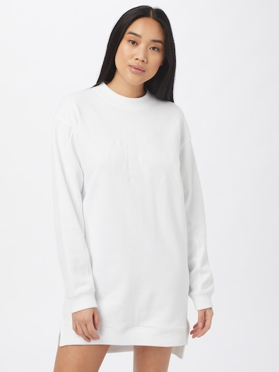 Calvin Klein Jeans Kleid in weiß, Modelansicht