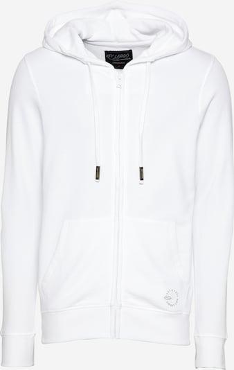 Key Largo Jopa na zadrgo | siva / bela barva, Prikaz izdelka