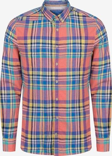 COLOURS & SONS Langarmhemd in mischfarben, Produktansicht