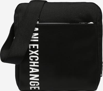 ARMANI EXCHANGE Umhängetasche in schwarz / weiß, Produktansicht
