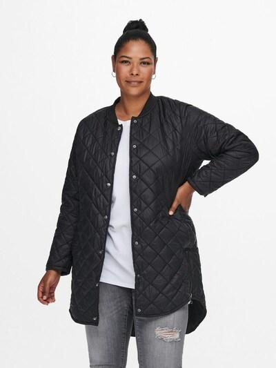 ONLY Carmakoma Mantel in schwarz, Modelansicht