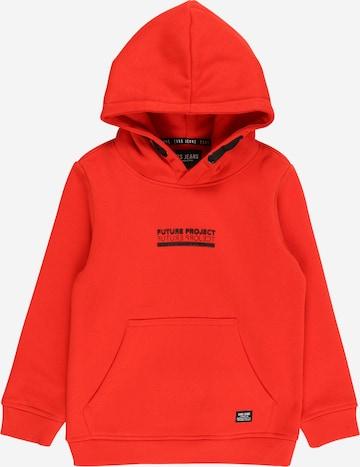 Cars Jeans Sweatshirt in Red